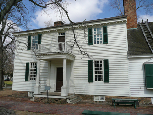 James Geddy House