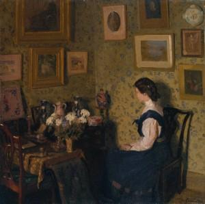 Edwardian Interior c.1907 by Harold Gilman 1876-1919 - Tate