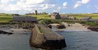 Pier & Dry Dock at Hynish