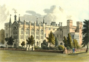 Cassiobury - John Hassell 1818