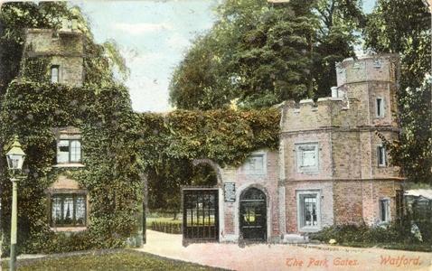 Cassiobury Gates 1902