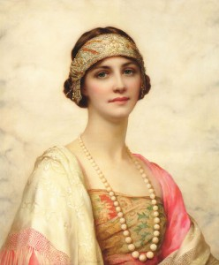 William Clarke Wontner - An Elegant Beauty