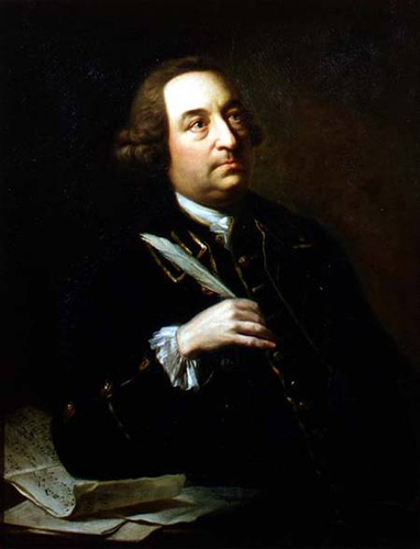 John Christopher Smith by Johann Zoffany