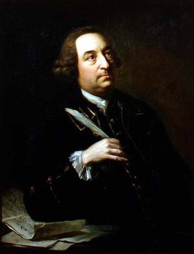 John Christopher Smith by Johann Zoffany