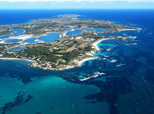 Rottnest Island aerial photo