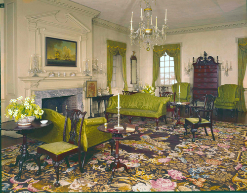 Winterthur - Port Royal Parlor 1963