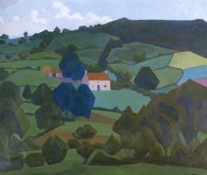 Robert Bevan - Burford Farm, Devon 1918