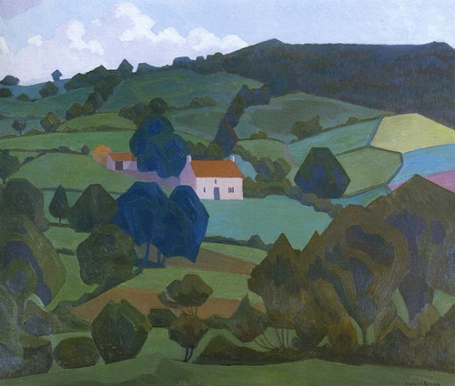 Robert Bevan - Burford Farm, Devon 1918