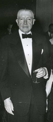 Henry Francis du Pont, 1954.