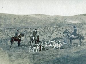 Hunting in Tangier 1893