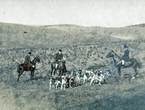 Hunting in Tangier 1893