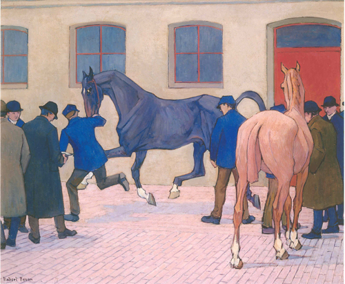 Robert Bevan - Showing at Tattersalls