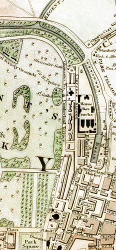 Regent's Park c. 1833
