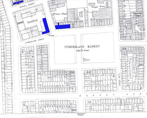1893 OS Map NW corner