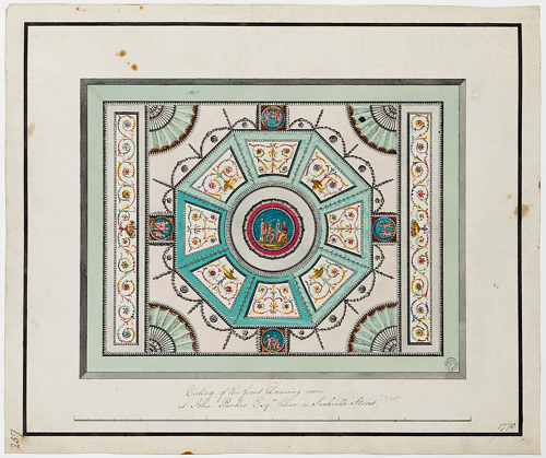 29 Sackville Street drawing - Soane Museum
