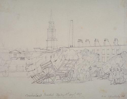 Cumberland Market 1837