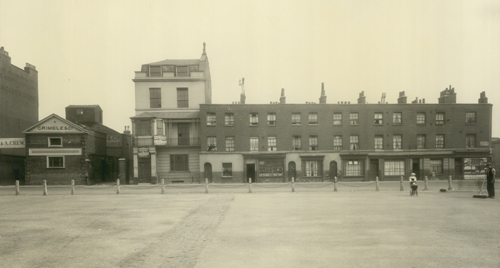 North Side of Cumberland Market - NE end 1929