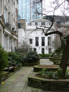 The Garden of Drapers' Hall