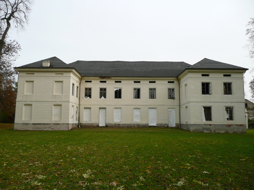 Slubice Palace Rear