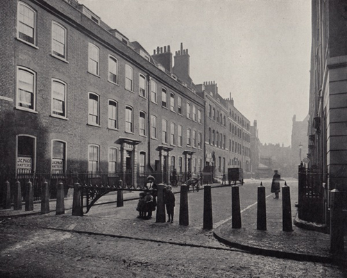 Spital Square 1909 - Thanks to Spitalfields Life