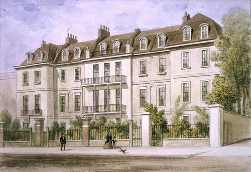 Lindsey House Chelsea 1850