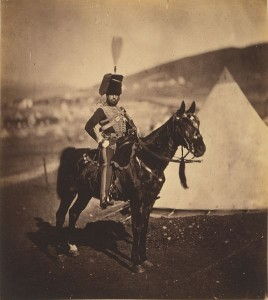 Roger Fenton. Cornet Wilkin 11th Hussars.