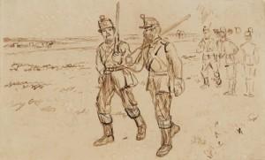 Charles Keene - Early Artists Rifles