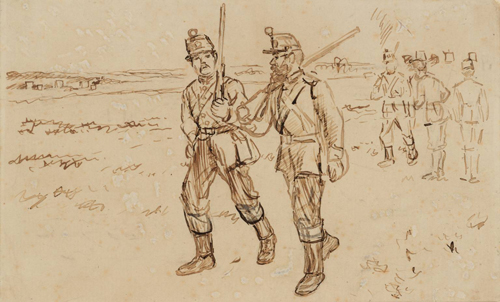 Charles Keene - Early Artists Rifles