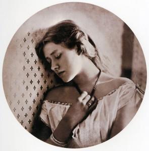 Ellen Terry - Sadness by Julia Margaret Cameron sml