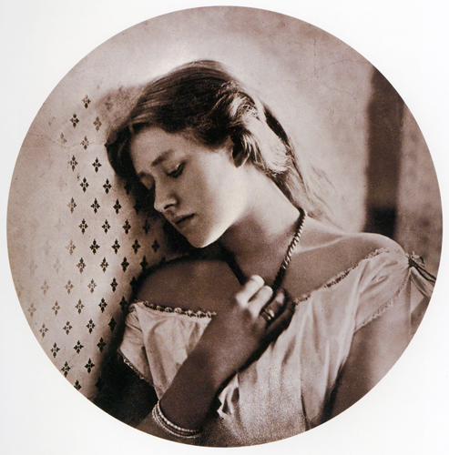 Ellen Terry - Sadness by Julia Margaret Cameron sml