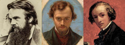 Hunt Rossetti and Millais