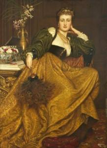 Val Prinsep. Leonora di Mantua.
