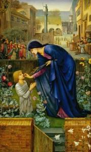 Edward Burne-Jones. The Prioress's Tale.