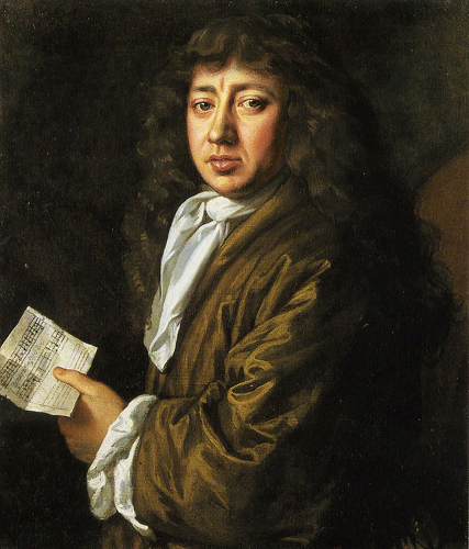 Portrait of Samuel Pepys by J. Hayls
