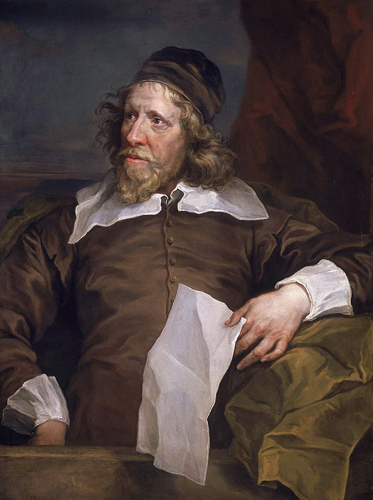 Portrait of Inigo Jones by Hogarth
