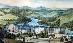 New Lanark in 1818