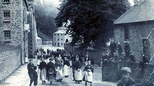 New Lanark 1890s