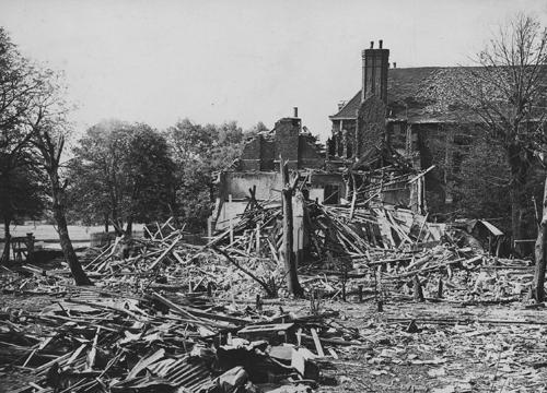 Bomb damage 1944
