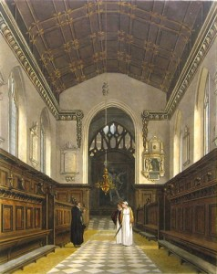 Chapel Jesus Oxford 1814