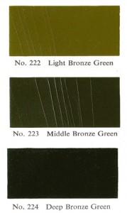 BS Bronze Greens