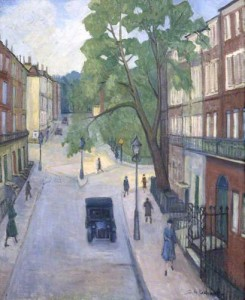 A Corner of Russell Square. ca.1934 (Museum of London)