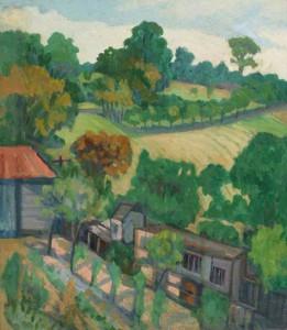 At Woodnesborough, Kent. pre 1935 (Manchester City Art Galleries)