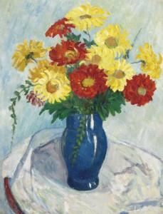 Autumn Flowers. ca.1947