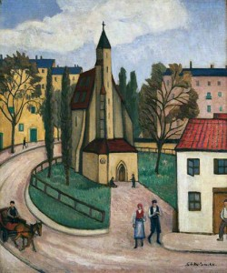 Church of the Holy Cross, Cracow. 1926-27 (Wakefield Museums and Galleries)