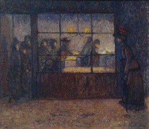 Fried Fish Shop. ca.1907 (Tate)