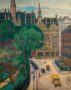 Imperial Hotel, Russell Square. ca.1931 (Nottingham Castle Museum)