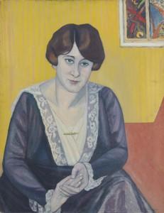 Ina (Hippo) Stewart. 1920