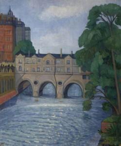 Pulteney Bridge, Bath. 1931-35 (Plymouth City Council)