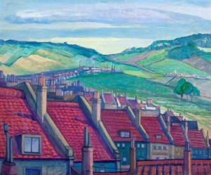 Rooftops, Clifton Bristol. ca.1931 (Swindon Art Gallery)