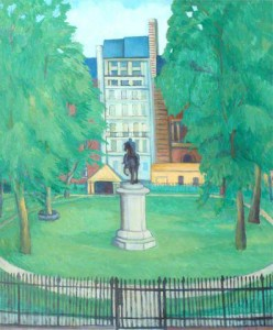 St James's Square. 1939 (Aberdeen Art Gallery)